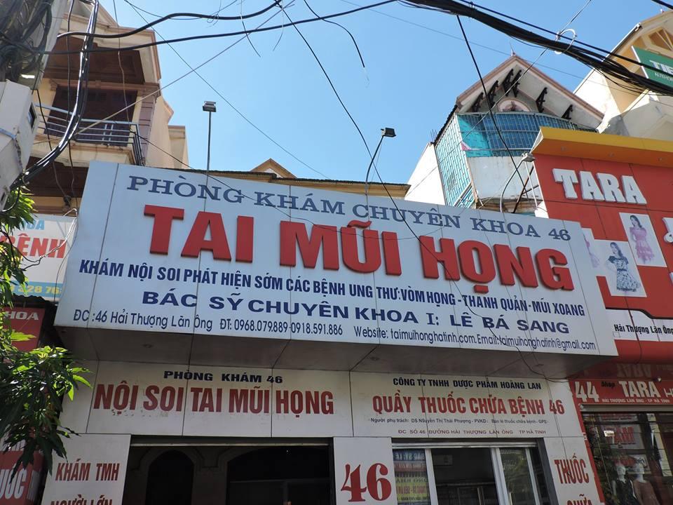 """Phòng khám Tai Mũi Họng Hà Tĩnh """" chữ Tín là Vàng"""""""