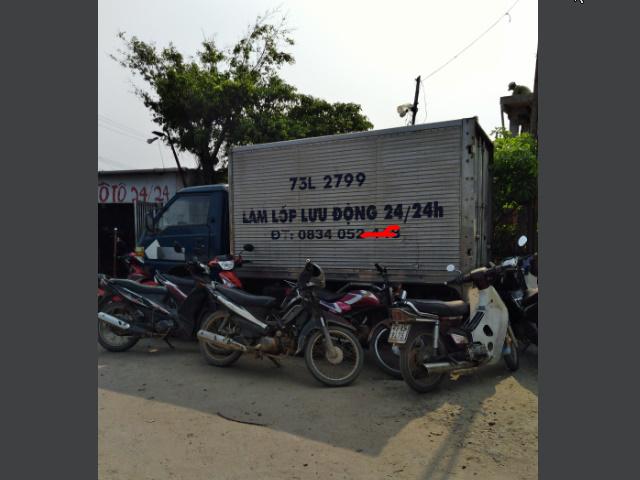 Làm lốp ô tô Đồng Hới Quảng Bình 24/24 uy tín giá rẻ