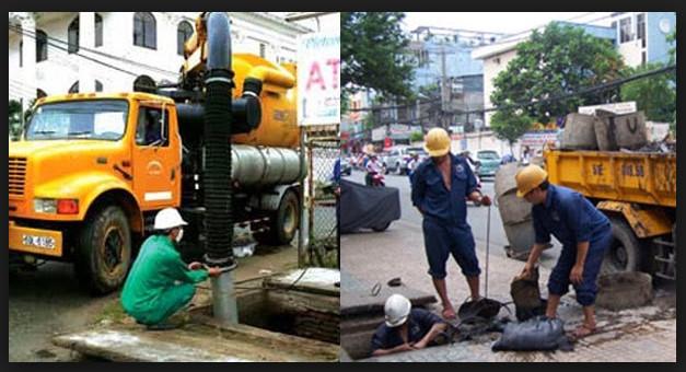 Hút bể phốt ở Vinh với độ ngũ công nhân chuyên nghiệp