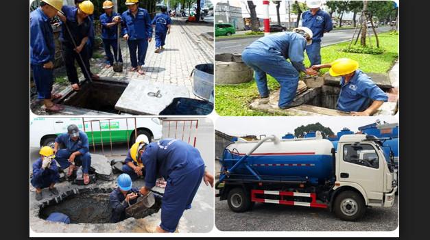 Hút hầm cầu ở Vinh dịch vụ Công ty vệ sinh và MT-NA