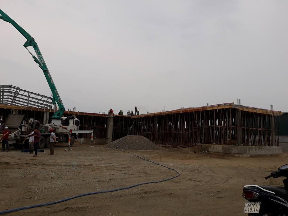 Nhà máy bê tông Hà Tĩnh với công nghệ châu âu đạt chuẩn