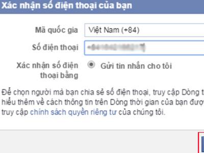 Mo tai khoan facebook