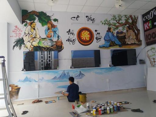 Vẽ tranh lên tường Hà Tĩnh