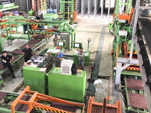 Nhà máy gạch không nung TC Hà Tĩnh