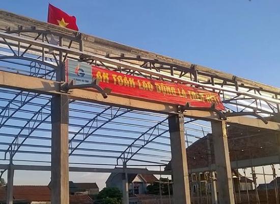 Thi công nhà thép tại Vinh Nghệ An chất lượng tốt.