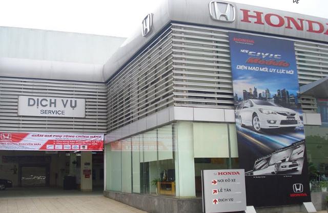Đại lý ô tô HonDa tại Vinh địa chỉ Đại Lộ Lê Nin, Phường Hưng Dũng, TP. Vinh, Tỉnh Nghệ An