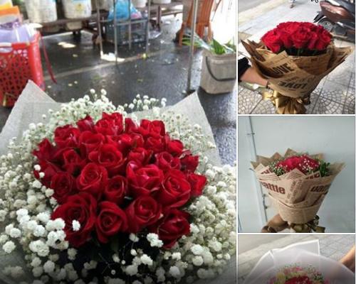Shop bán hoa tươi ở Đồng Hới của đơn vị AT đường Quách Xuân Kỳ thành phố Đồng Hới 0917.312.599