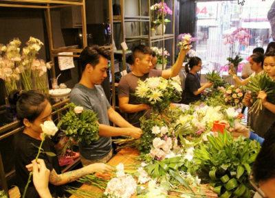 Shop bán hoa tươi ở Đồng Hới Quảng Bình thương hiệu Vàng.