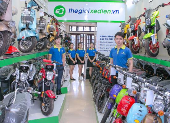 Sửa xe đạp điện ở vinh của đơn vị Thế Giới Xe Điện tại 222 Nguyễn Văn Cừ  093.289.2233