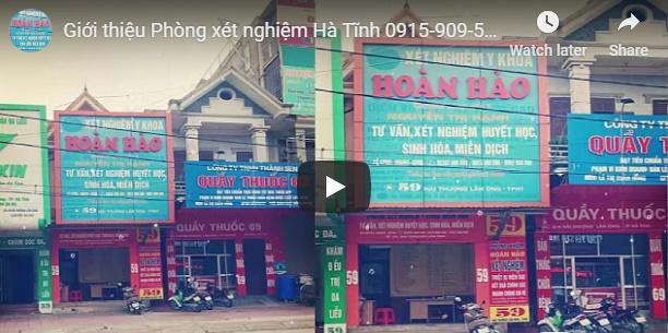 Phòng xét nghiệm tại Hà Tĩnh