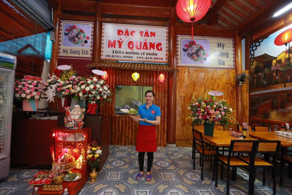 Mỳ quảng ếch Hà Tĩnh đặc sản