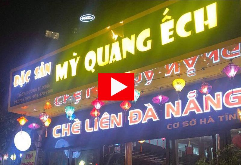 Mỳ quảng ếch Hà Tĩnh ngon và rẻ