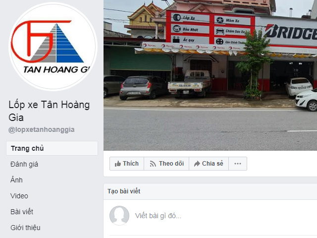 Làm lốp ô tô ở Quảng Bình của đơn vị Hoàng Giá DT: