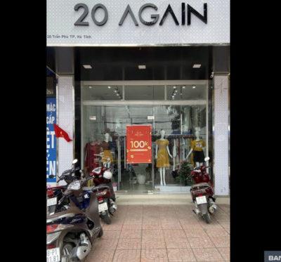"""20 Again HT thời trang nữ tại Hà Tĩnh một địa chỉ Vàng chị em nên """"bỏ túi""""."""