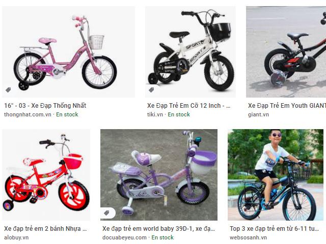 Muôn màu kiểu giáng xe đạp trẻ con Hà Tĩnh cho trẻ tập tành.