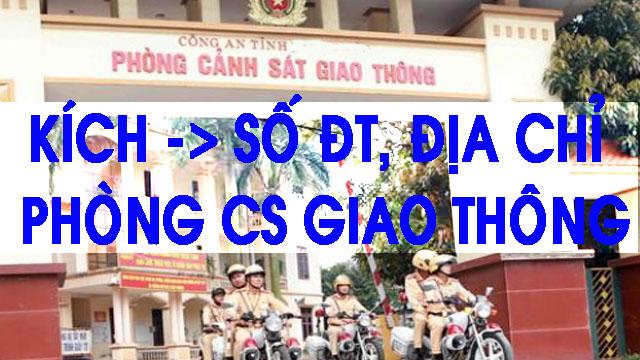 phòng cảnh sát giao thông công an Hà Tĩnh