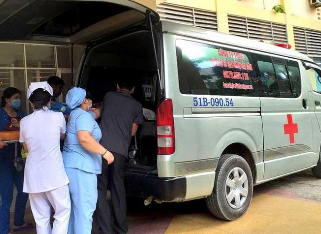 Xe cấp cứu thành phố Huế