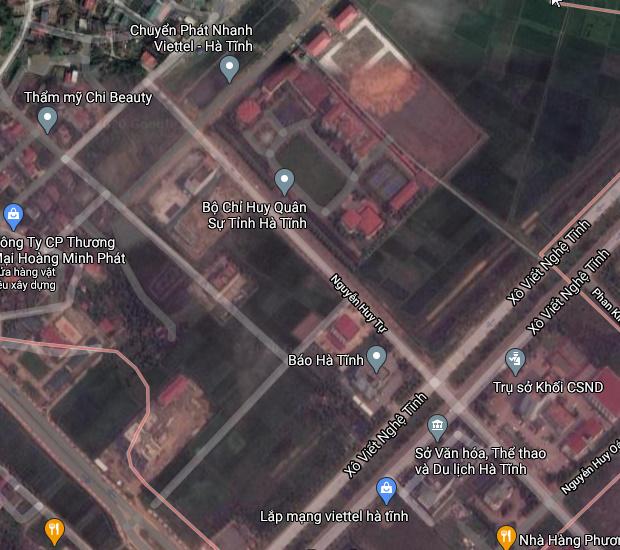 Bán đất phường Nguyễn Du tp Hà Tĩnh.