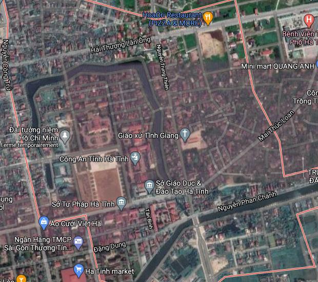 Bán đất phường Tân Giang Hà Tĩnh.