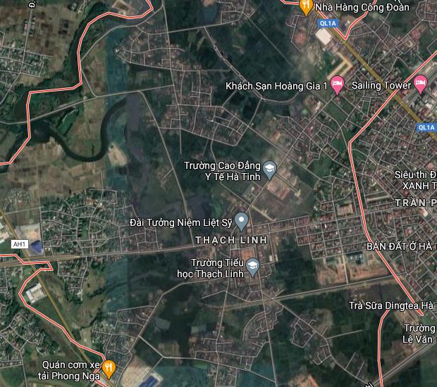 Bán đất phường Thạch Linh Hà Tĩnh.