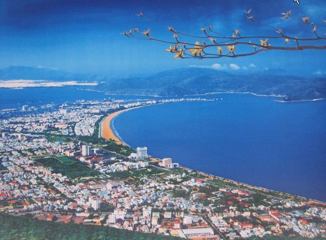 Thành phố Quy Nhơn phát triển với tốc độ chóng mặt