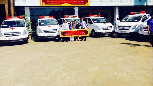 Dịch vụ cho thuê xe cấp cứu tại thành phố Thanh Hóa chất lượng Vàng.