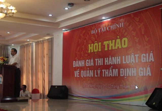 Hội nghị thẩm định viên tại thành phố Vĩnh Yên.