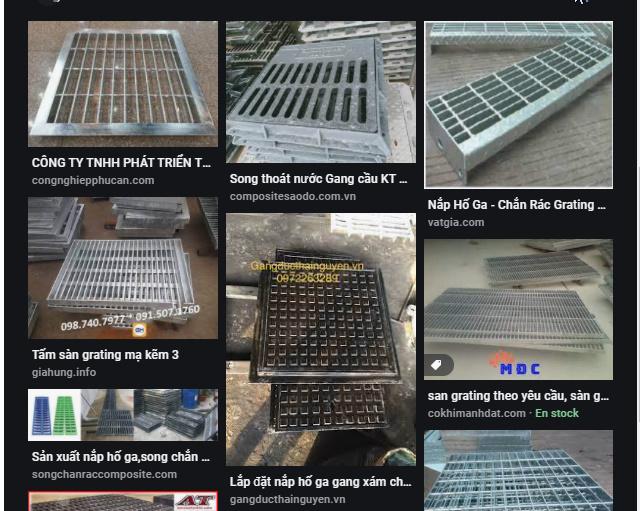 Nắp hố ga lưới chắn rác tại Quảng Bình mua ở đâu tốt nhất.